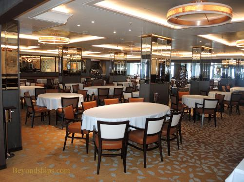 Britannia photo tour and commentary main dining for P o britannia dining rooms