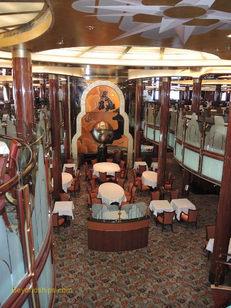 Queen Victoria, cruise ship, Britannia Restaurant