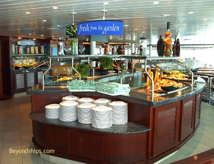 cruise ship enchantment of the seas Windjammer buffet