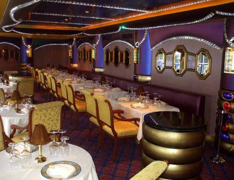 Carnival Liberty Daimonds Steakhouse