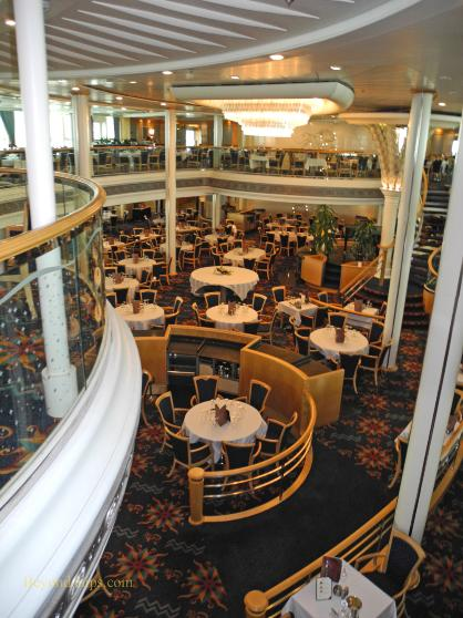 Visionf The Seas Photo Tour And Commentary Dining
