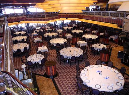Carnival Freedom main dining room