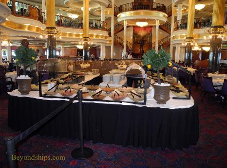 Adventure of the Seas cruise ship dining