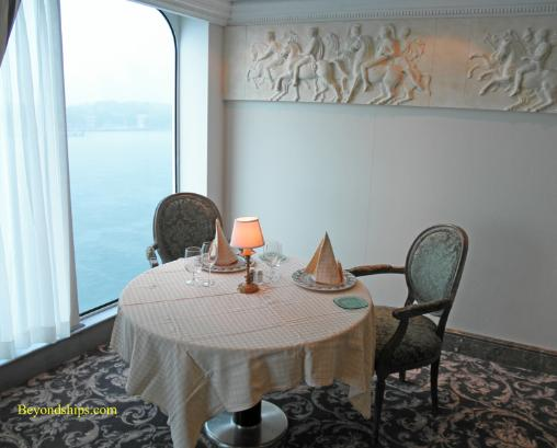 Cruise ship Ocean Princess Sabatini's  specialty restaurant