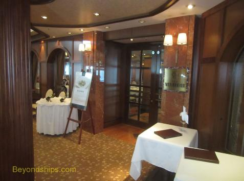 Queen Victoria, cruise ship, Verandah Restaurant