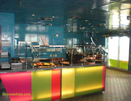 Wipeout Cafe, Oasis of the Seas