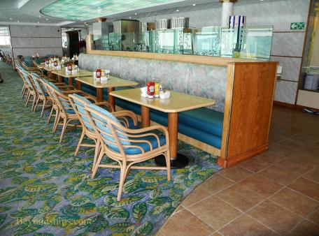 Norwegian Sun cruise ship dining