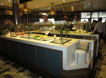 Quantum of the Seas buffet