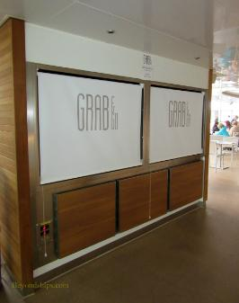 Britannia cruise ship, Grab and Go