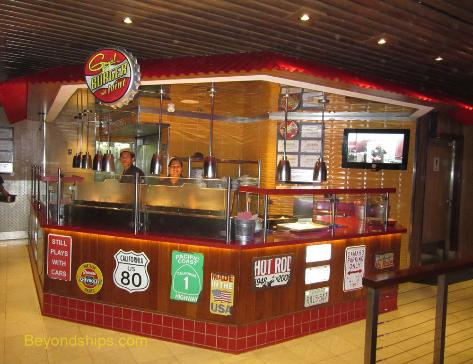 Carnival Conquest Guy's Burger Joint