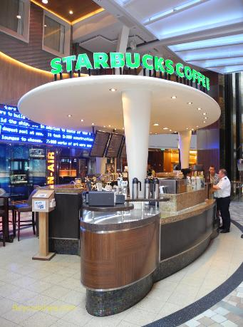 Oasis of the Seas Starbucks
