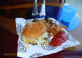 Carnival Conquest Guy's Burger