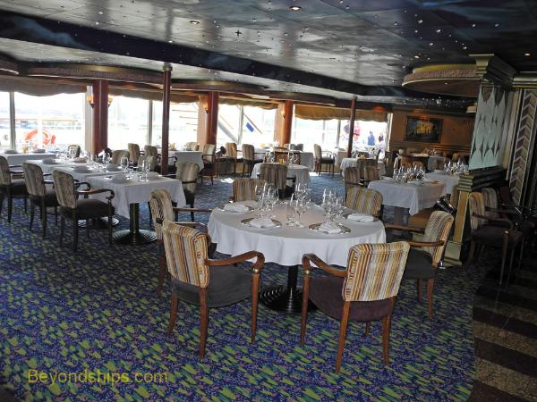 Carnival Conquest main specialty restaurant