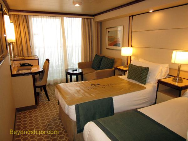 cruise ship Royal Princess cabins