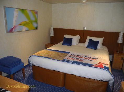Carnival Breeze cruise ship stateroom