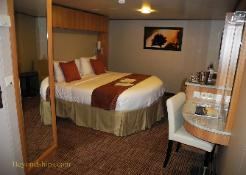 Celebrity Reflection cruise ship cabin