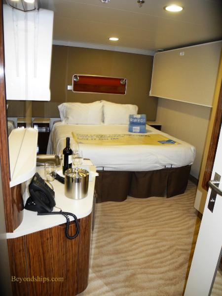 Norwegian Breakaway cruise ship, inside cabin