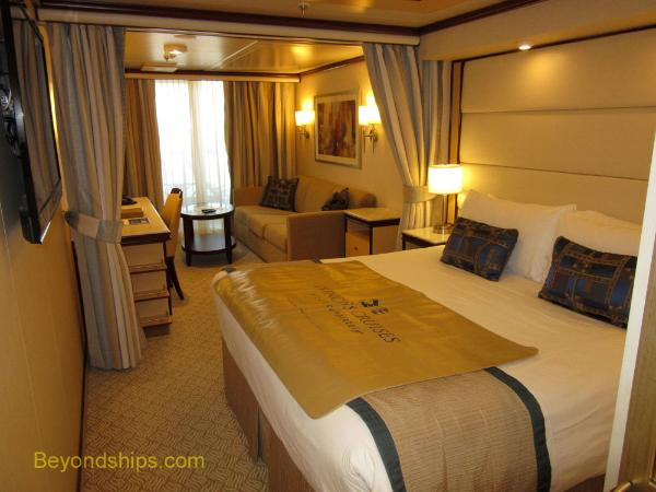 cruise ship Royal Princess mini-suite