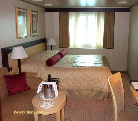 Cruise ship photo - Cunard Line - Queen Victoria - ocean view stateroom