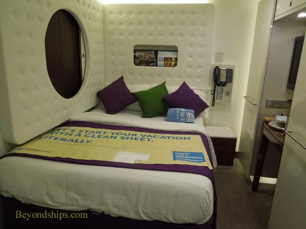 Norwegian Breakaway cruise ship, studio cabin