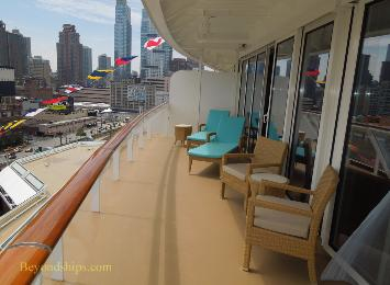 Norwegian Breakaway cruise ship, The Haven, Deluxe Ower's Suite