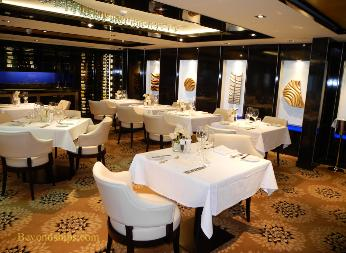 Norwegian Breakaway cruise ship, The Haven Restaurant