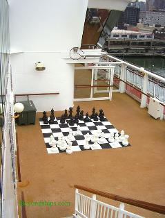 Norwegian Dawn sports