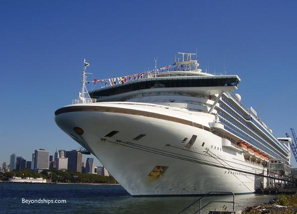 Photo of cruise ship - Grand Princess of Princess Cruises