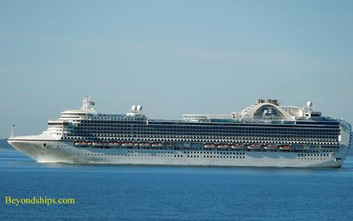 Picture of Princess Cruises' cruise ship Crown Princess