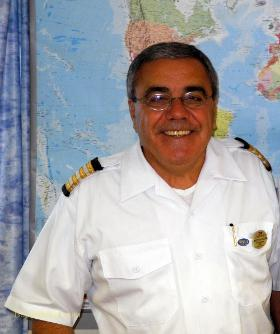 Ocean Princess cruise ship Hotel General Manager Arturo Caliise