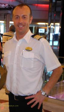 Hotel Director Silvio Ghigo of cruise ship Legend of the Seas