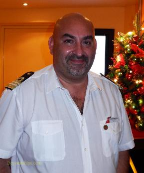 Carnival Breeze cruise ship Hotel Director Camilleri