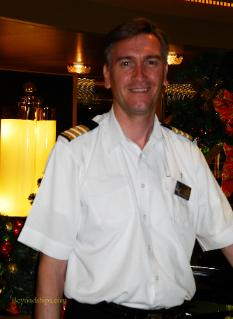 Cruise ship Eurodam hotel director Stan Kuppens