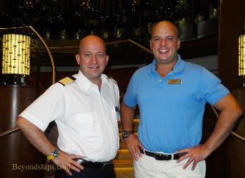 Celebrity Reflection cruise ship Hotel Director Brackenbury Cruise Director Baya
