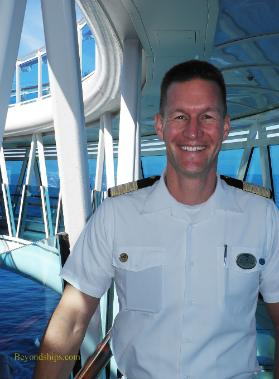 Dirk Brand, Hotel General Manager, Regal Princess, cruise ship