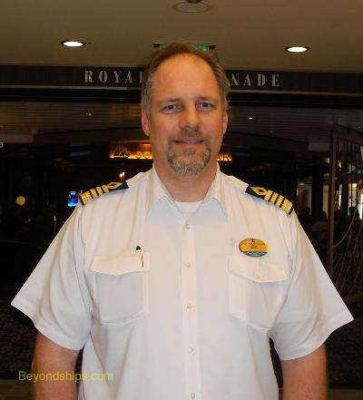 Quantum of the Seas Captain Gus Andersson