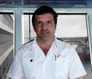 Carnival Breeze cruise ship Captain Battinelli