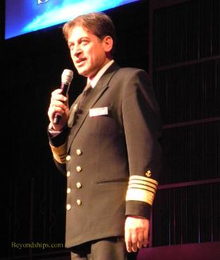 Celebrity Reflection cruise ship Captain Pagonis
