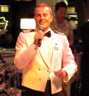 Captain Edward Perrin, Regal Princess, cruise ship