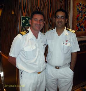 Stewart Howard and Captain Rosario Arena of Carnival Freedom