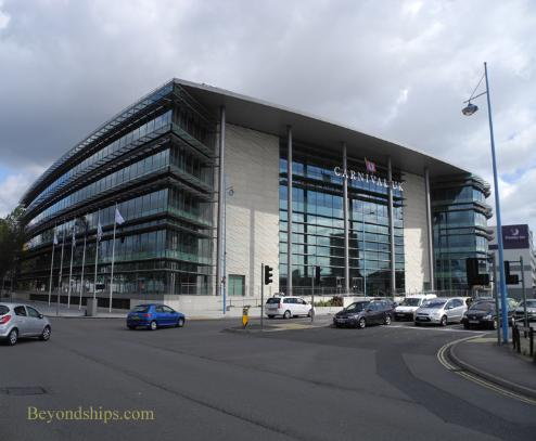 Carnival UK headquarters in Southampton, England