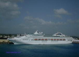 Photo of cruise ship Dawn Princess of Princess Cruises