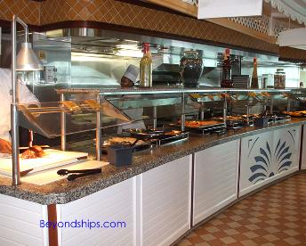 Explorer of the Seas, casual dining