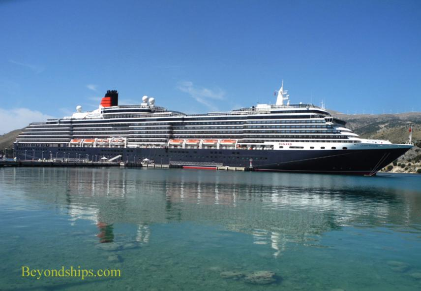 cruise ship photo - Cunard Line - Queen Victoria - Cephalonia