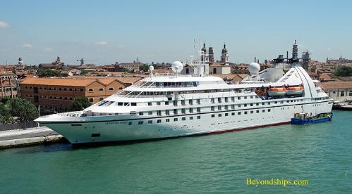 Image of cruise ship Seabourn Spirit
