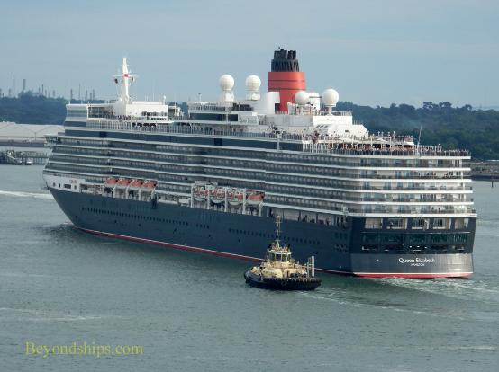 Cruise ship Queen Elizabeth