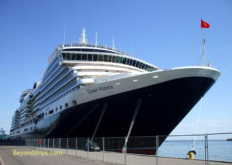 cruise ship photo - Queen Victoria - Cunard Line