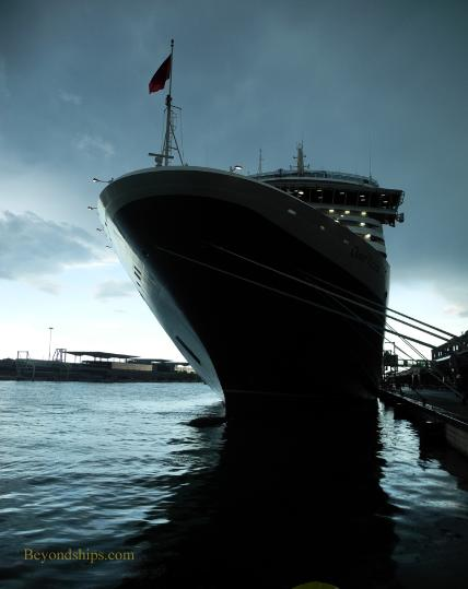 Cunard ship Queen Victoria in Venice, Italy