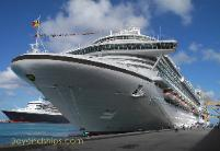 Photo of cruise ship Azura of P&O Cruises