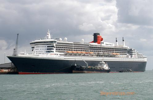 Queen Mary 2 Southampton